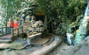 Einfahrt zum Endlager 1