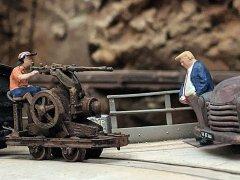 Amerika und seine Waffen.